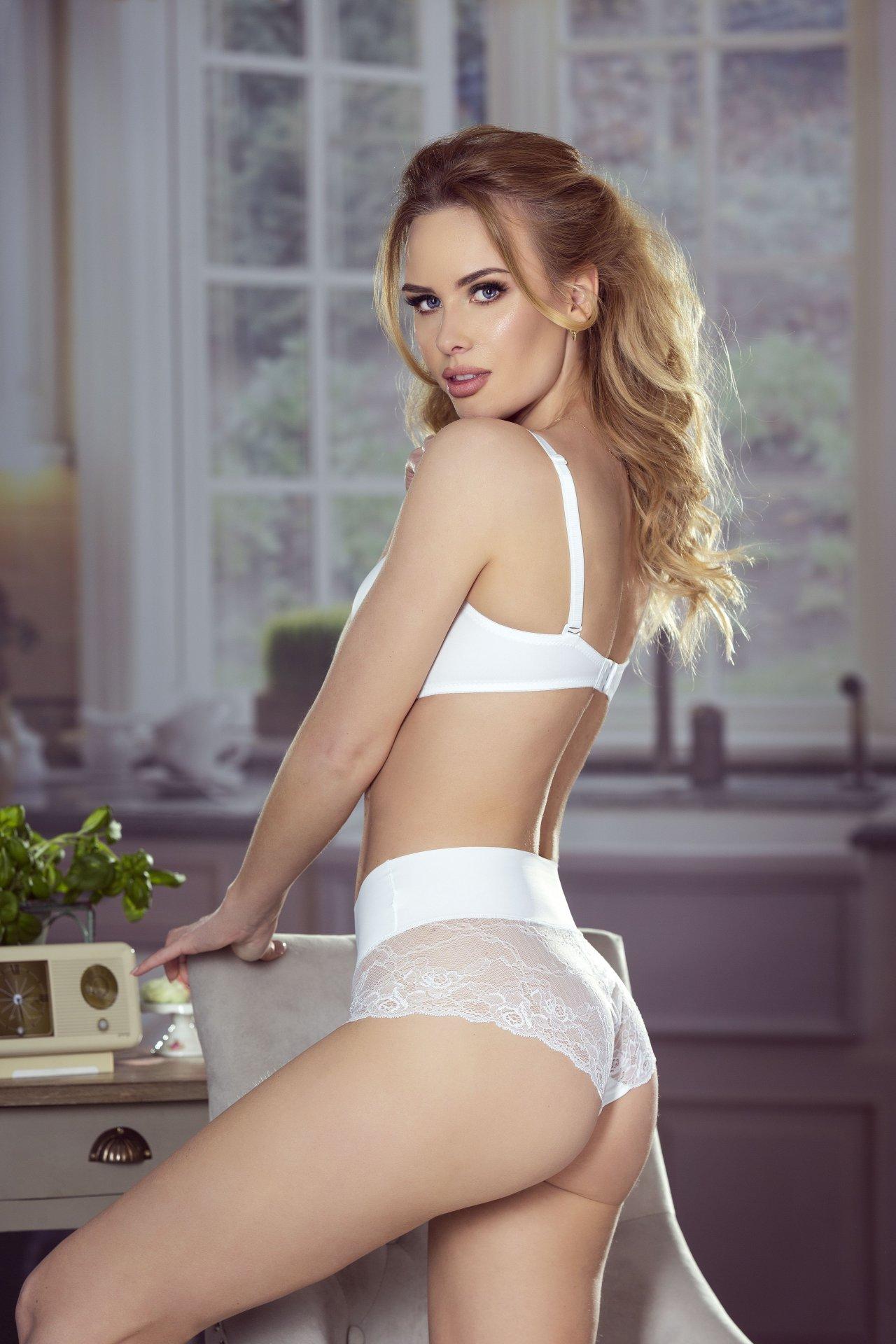 Figi Eldar modelujące Majtki Virginia Białe