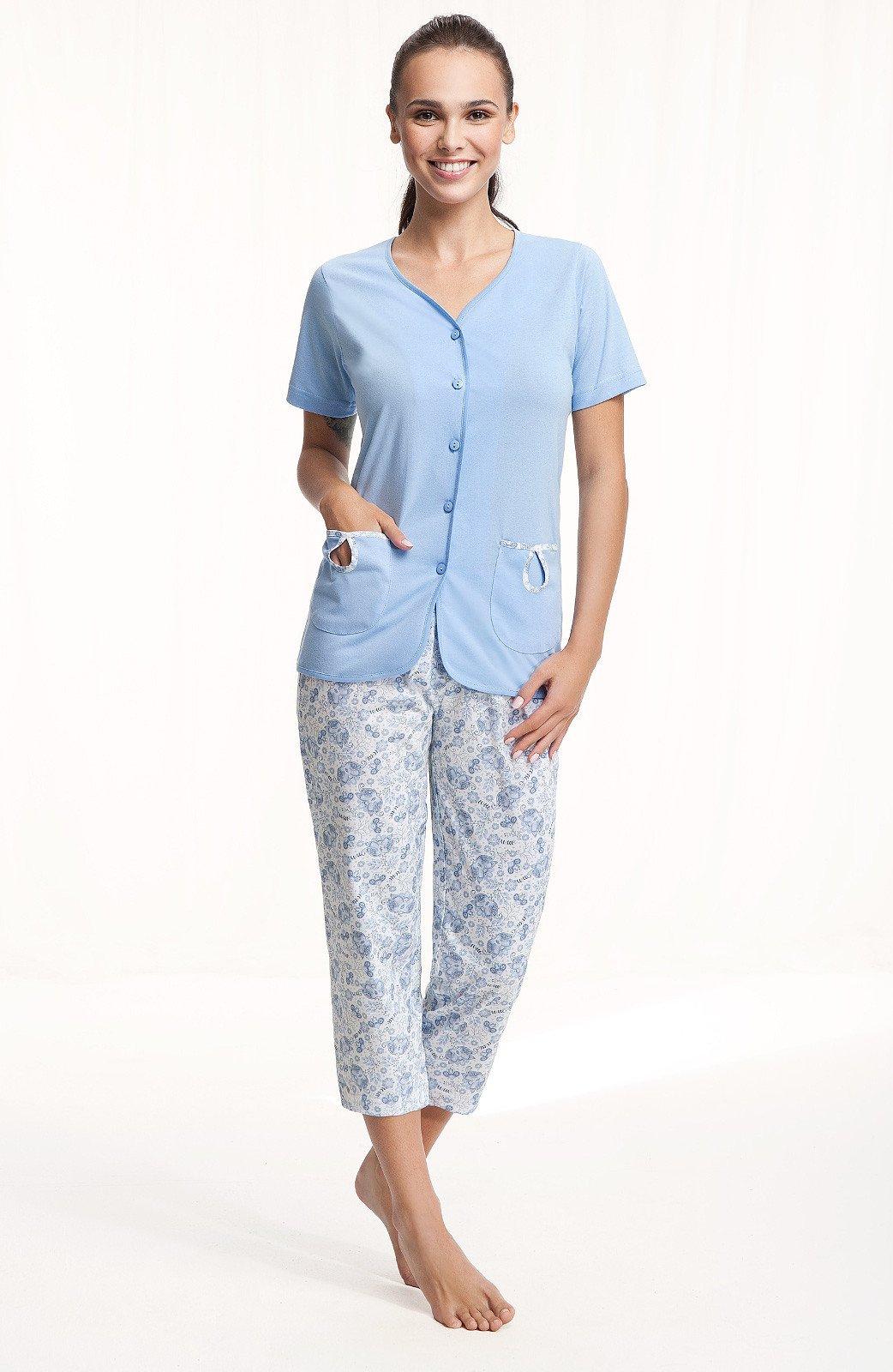 Piżama Luna 632 KR/R M-2XL Damska