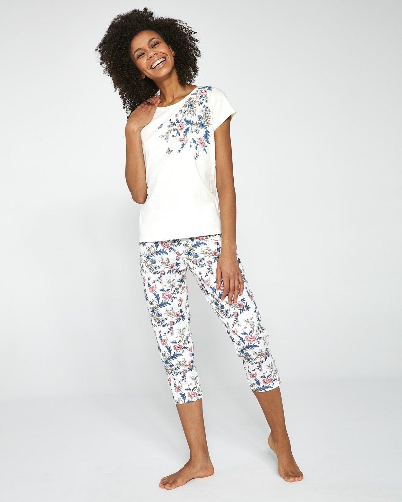 Piżama Cornette Damska 670/200 Sophie KR