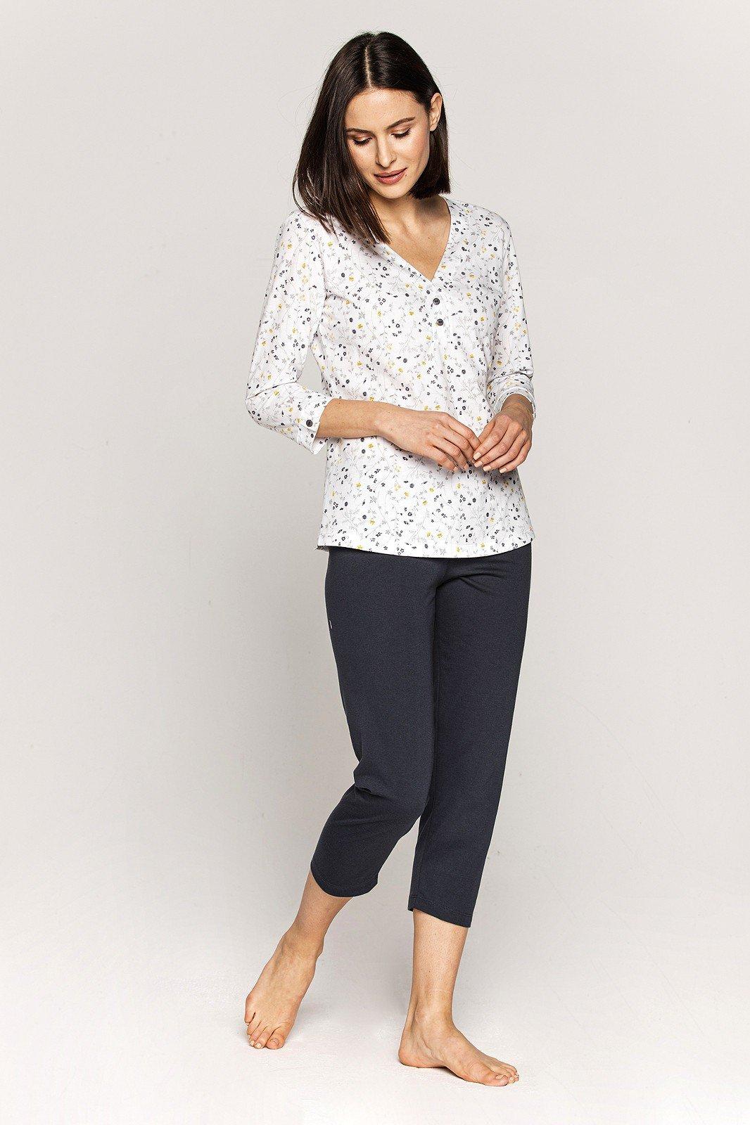 Piżama Cana Damska 555 3/4 R