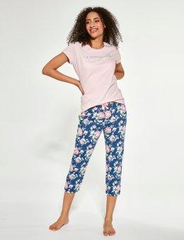 Piżama  466/281 Beautiful KR/R Trzyczęściowa Damska