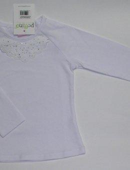Bluzka Biała DŁ.RĘK. R.74-86