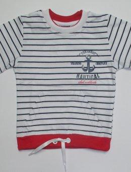 Bluzka Marynarska KR.RĘK. R.116-146