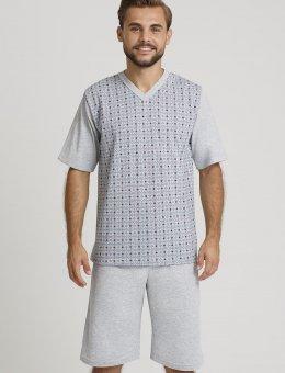 Piżama  943 KR/R 4XL-5XL Męska