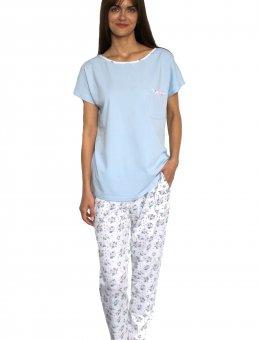 Piżama DE Lafense Maribell 434 KR/R 2XL
