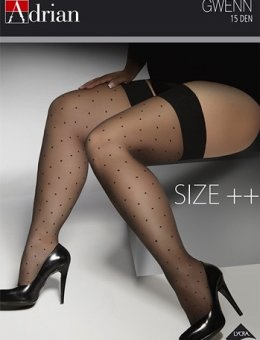 Pończochy  Gwenn Size ++ 15 DEN 5-8XL