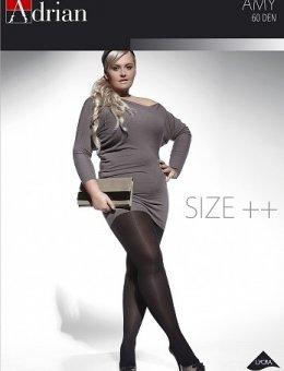 Rajstopy  AMY Size++ 60 DEN 6-XXL