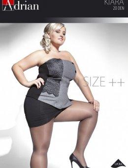 Rajstopy  Kiara Size++ 20 DEN 7-8XL