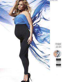 Legginsy BAS Bleu Anabel Ciążowe 200 DEN Polar S-2XL