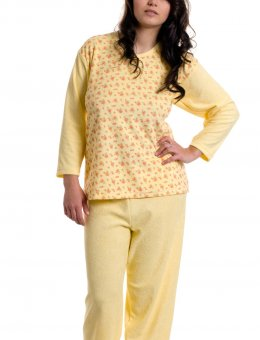 Piżama damska różyczki  Frota R.S-XXL