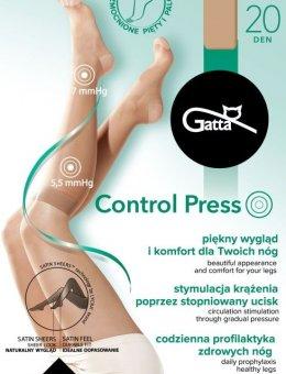 Podkolanówki Control Press 20 DEN