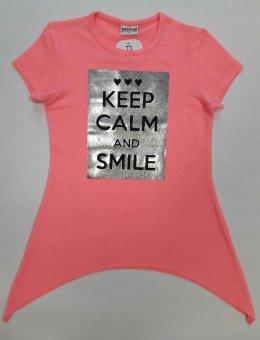 Bluzka Dziewczęca Keep Calm R.116-146