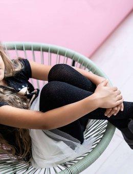 Rajstopy Dziewczęce Teen Angel Dust