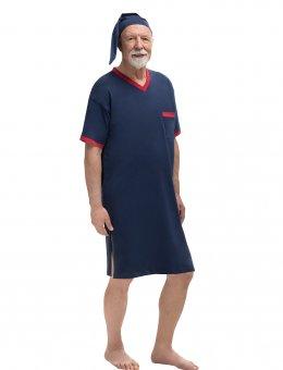 Koszula  Gładka 502 KR/R Sylwester I 3XL-5XL