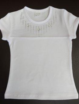 Bluzka Biała R.152-164