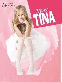 Rajstopy Miss Tina żakard R.80-158