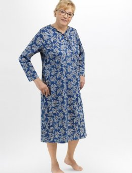 Koszula nocna damska  Wanda II 214 DŁ/R 3XL-4XL