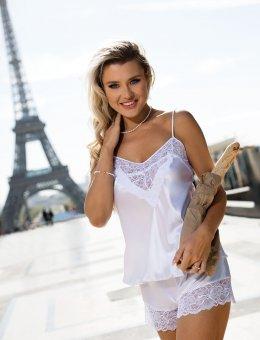 Biała koronkowa piżama  Cynthia