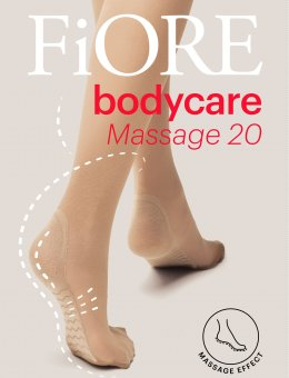 Podkolanówki Massage 20 DEN