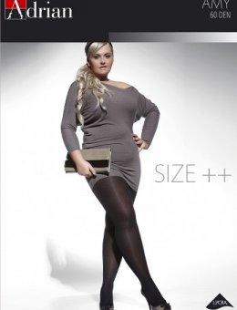 Rajstopy  AMY Size++ 60 DEN 7-8XL