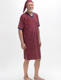 Koszula  Krata 502 KR/R Sylwester I M-2XL