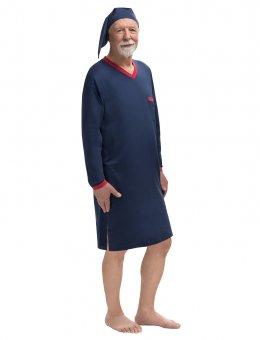 Koszula  Gładka 501 DŁ/R Sylwester II 3XL-5XL
