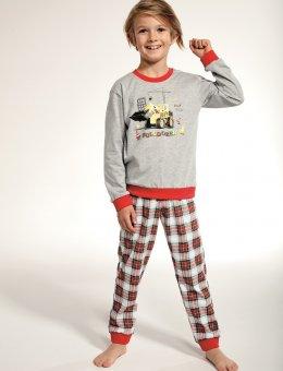 Piżama BOY Kids 593/88 Bulldożer DR