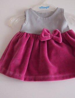Sukienka Welur 12530 R.56-104