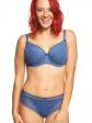 Biustonosz półusztywniany Sandy BS 594 Niebieski
