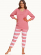 Piżama Carla 2606 3/4 R R.2XL-3XL